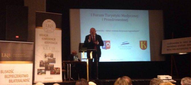 I Forum Turystyki Medycznej i Prozdrowotnej 18-19 listopada 2016 w Nałęczowie