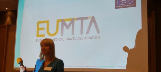 Magdalena Rutkowska na 2nd Annual Medical Tourism CE Conference w Pradze